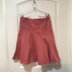 Anthropologie Fei Pink Orange Skirt